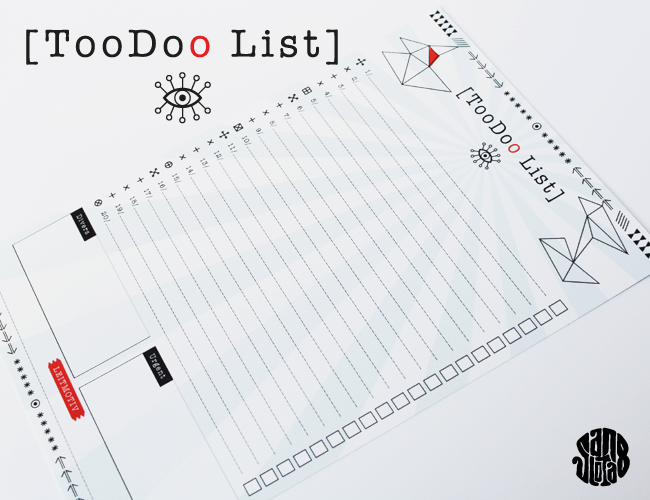 La Toodoo List (Free Printable)