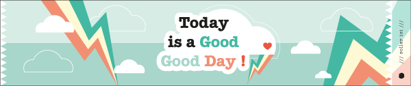 Les Etiquettes Positives Today is a Good Good Day (Free Printable)