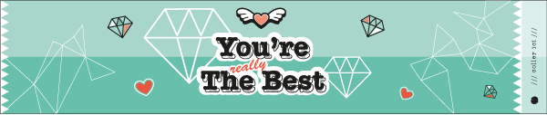 Les Etiquettes Positives You're The Best (Free Printable)