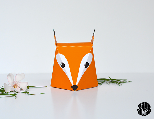 Fox Box - DIY + free printable