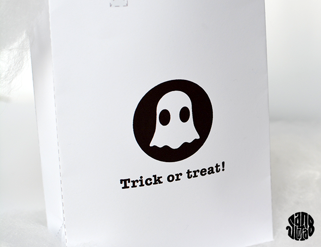 Le Ghost Bag (free printable) Trick or treat!