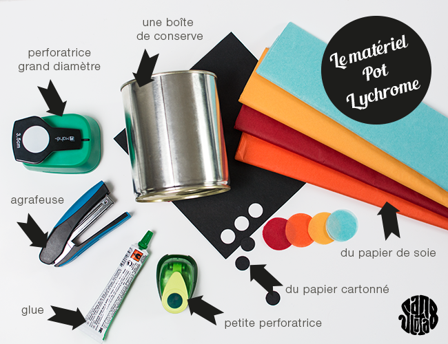 Le Pot Lychrome DIY