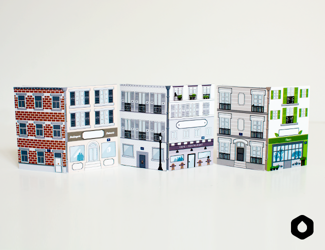 Les Nanocarnets n°4 : Rue Panoramique (free printable)