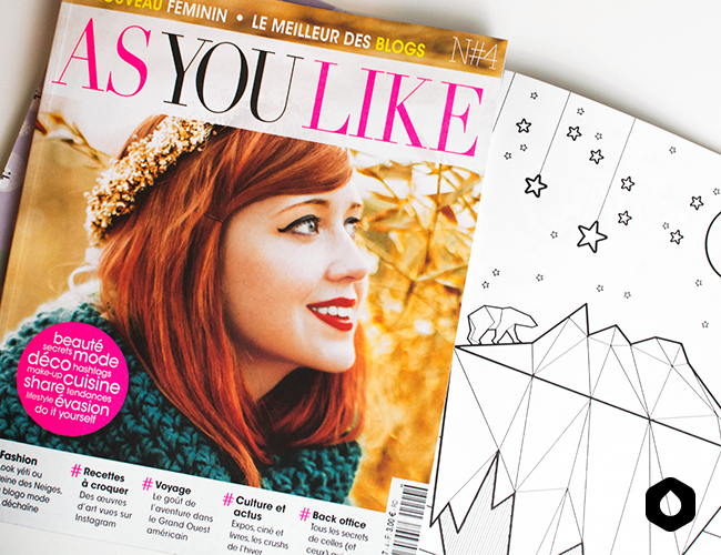 Magazine As You Like n°4 / Hiver 2015