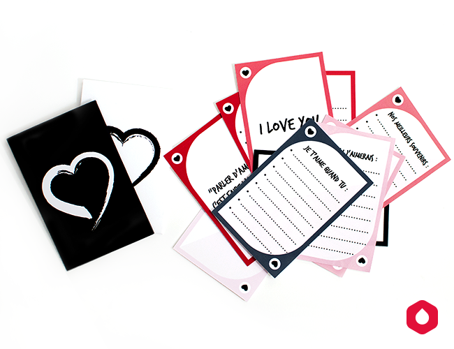 Les Cartes Crush (free printable) St Valentin