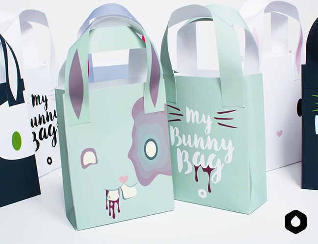 My Bunny Bag (+ bonus Z) - free printable