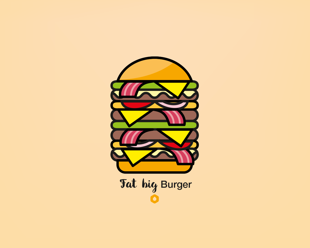 Wallpaper Pick Your Burger - Desktop - FatBig