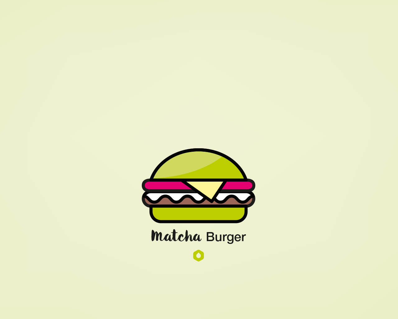 Wallpaper Pick Your Burger - Desktop - Matcha