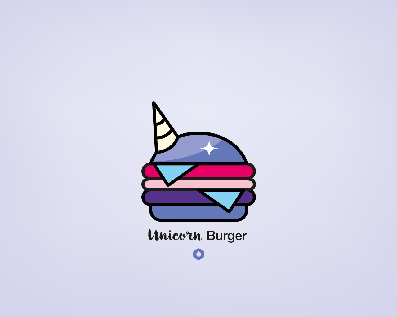 Wallpaper Pick Your Burger - Desktop - Unicorn