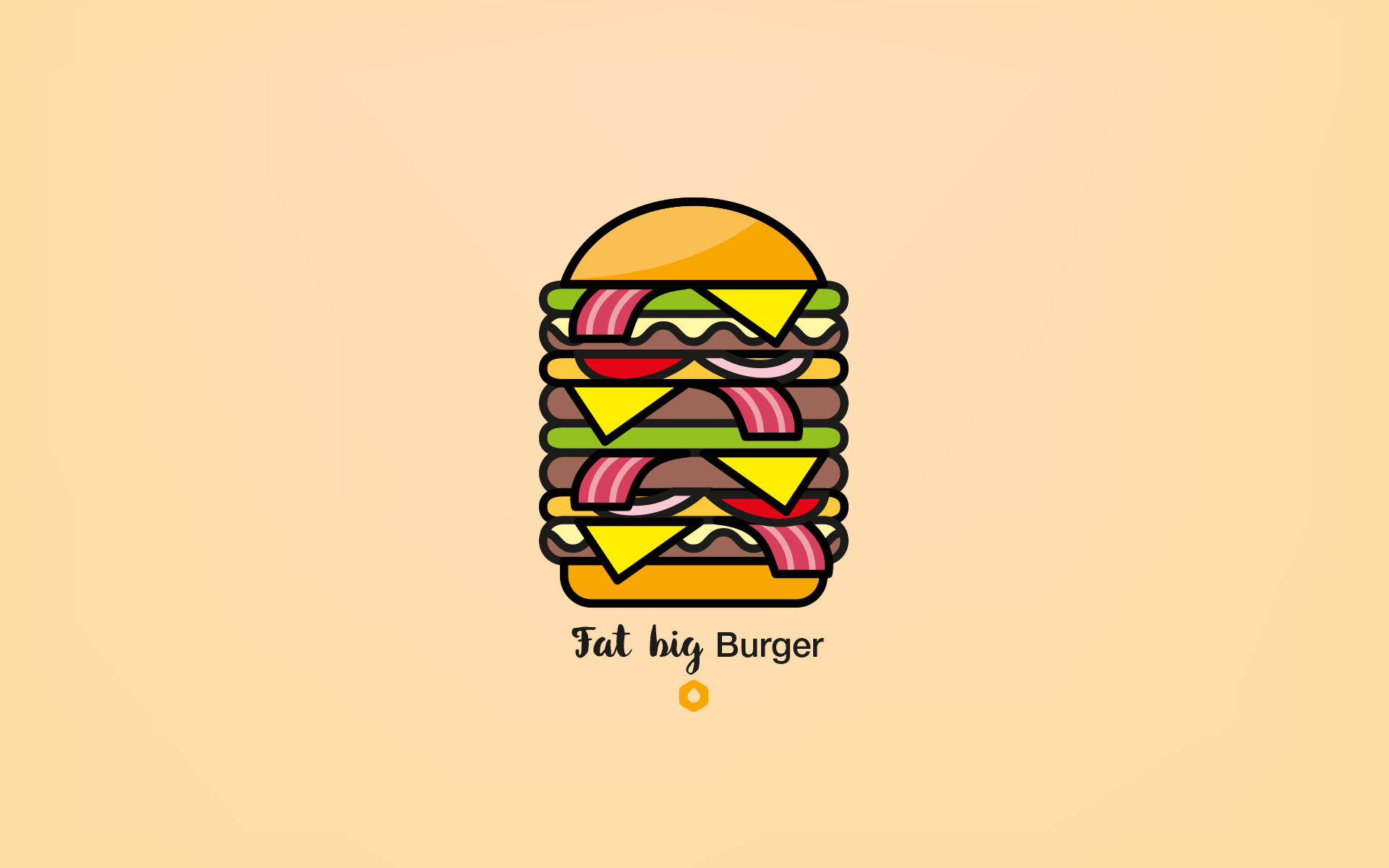 Wallpaper Pick Your Burger - DesktopHD - FatBig