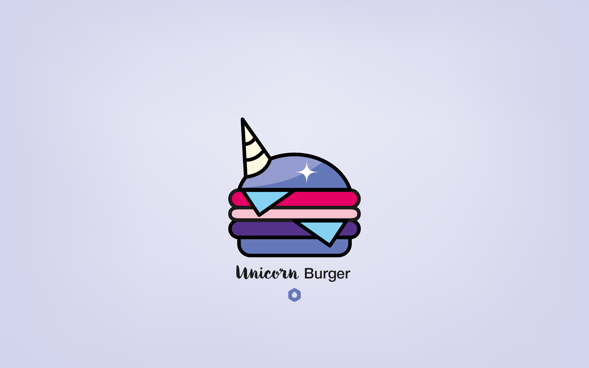 Wallpaper Pick Your Burger - DesktopHD - Unicorn