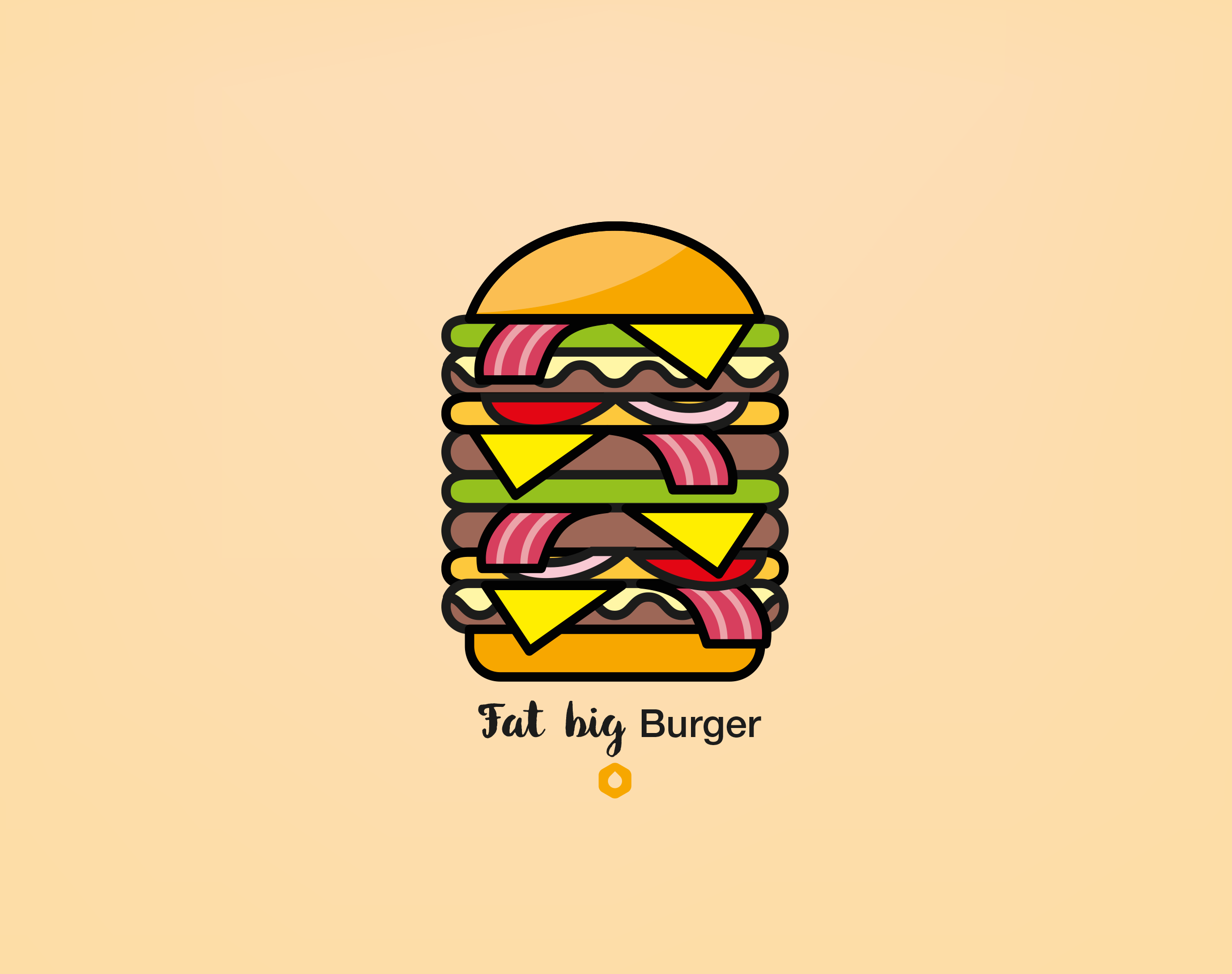 Wallpaper Pick Your Burger - Retina - FatBig