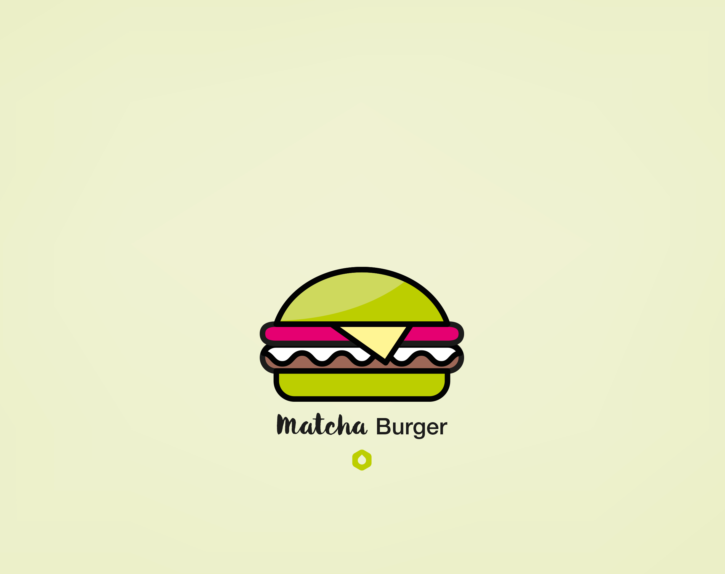 Wallpaper Pick Your Burger - Retina - Matcha