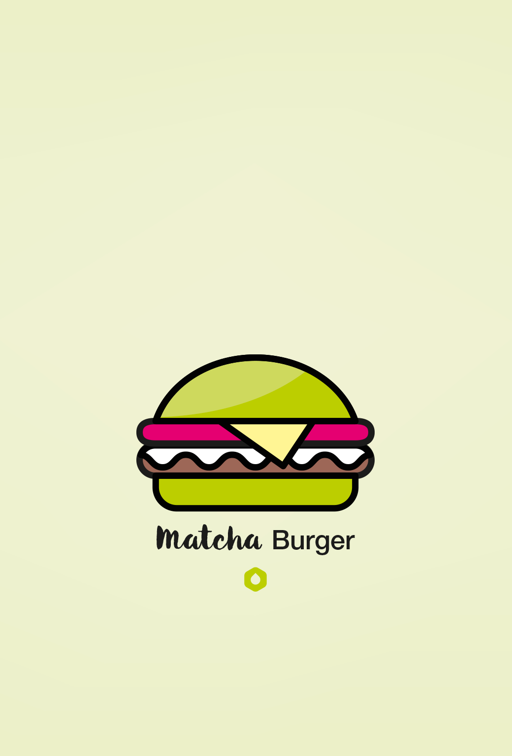 Wallpaper Pick Your Burger - iPhone5 - Matcha