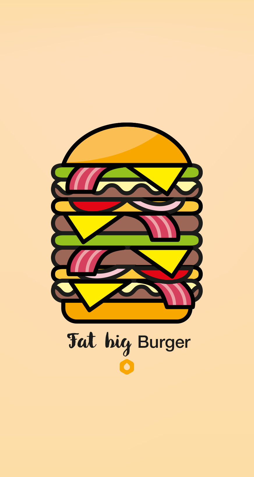 Wallpaper Pick Your Burger - iPhone6 - FatBig