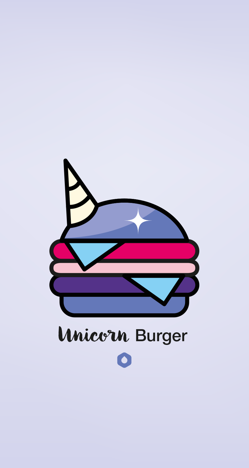 Wallpaper Pick Your Burger - iPhone6 - Unicorn