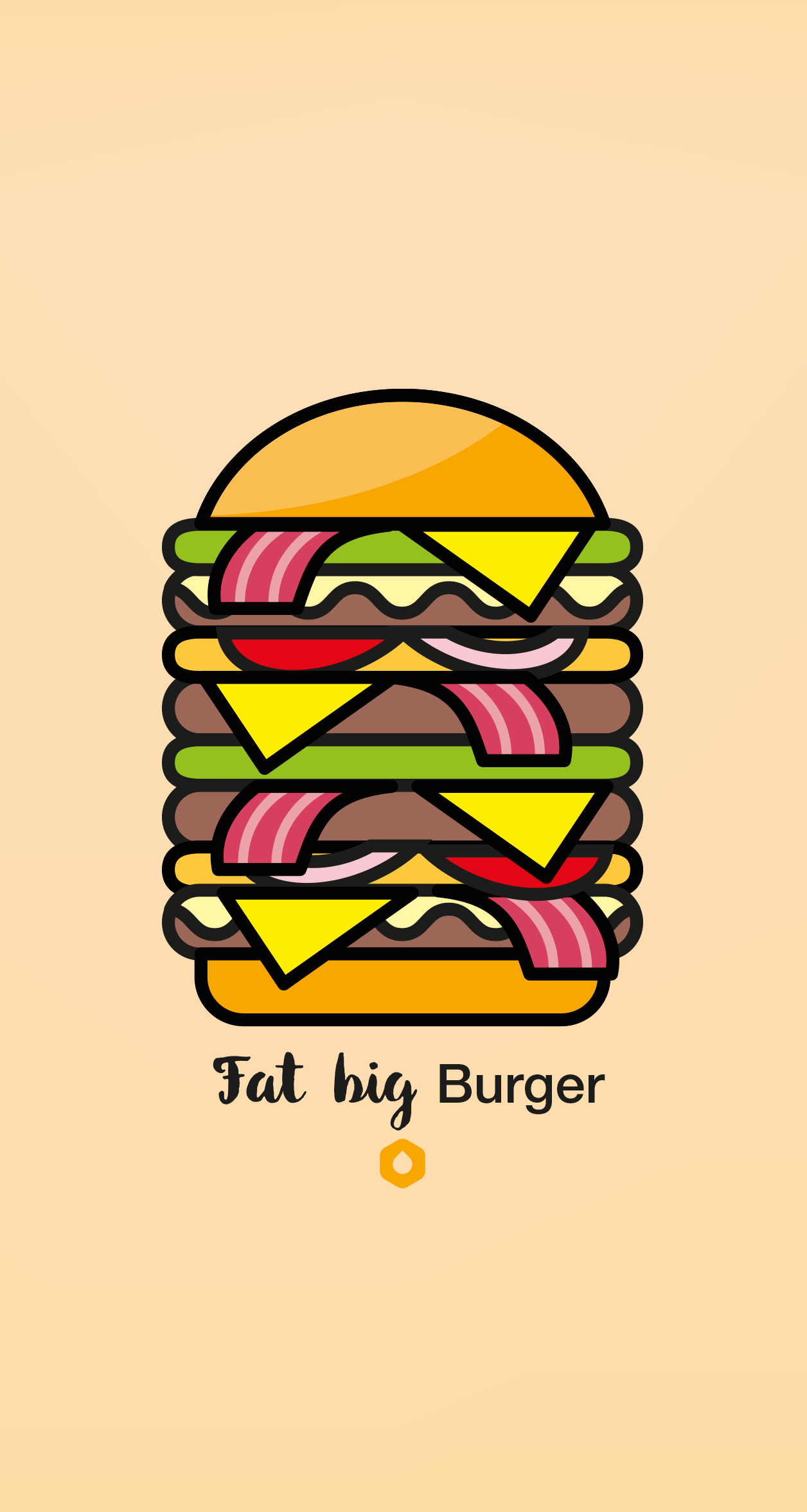 Wallpaper Pick Your Burger - iPhone6P - FatBig