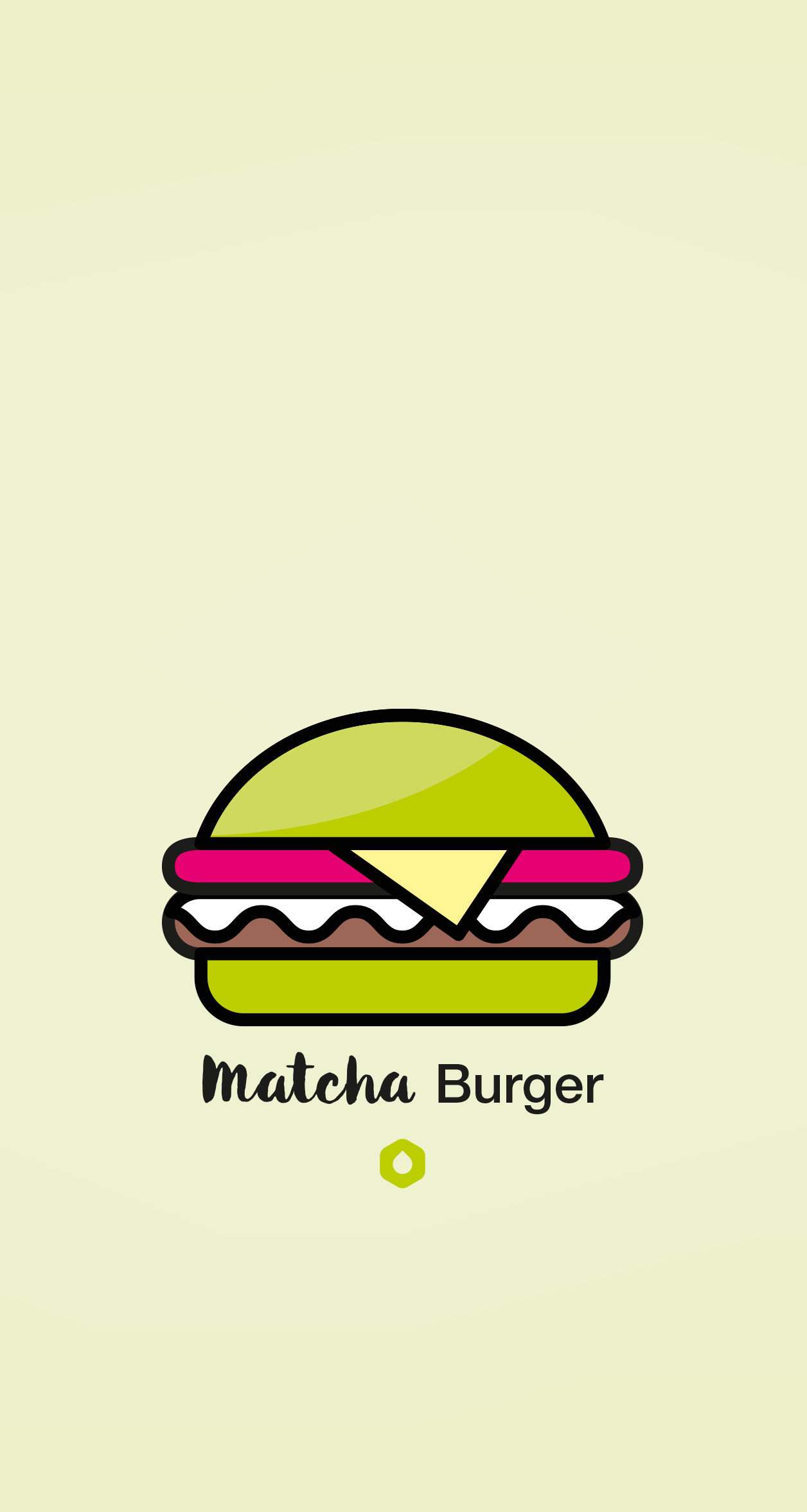 Wallpaper Pick Your Burger - iPhone6P - Matcha