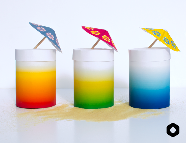 "Les Boîtes Cocktails - DIY + free printable ""Sex on the beach"", ""Mojito"" et ""Blue Lagoon"""