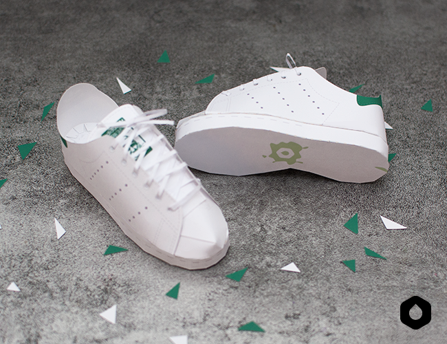 Les Iconiques : les Stan Smith d'Adidas - fan art- DIY free printable