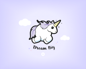 "Wallpapers ""Licorne Dodue"" Dream Big - Desktop"