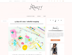 Ninetyco.com / 2016-12-13 : 24 days of x-mas / colorful wrapping