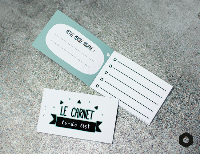 Le Carnet to-do list - free printable